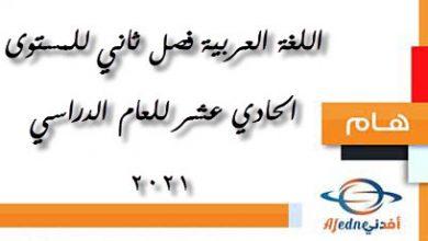 Photo of سلسلة الناجي اللغة العربية للمستوى الحادي عشر قصل ثاني عام 2021